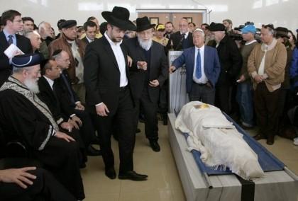 MIDEAST-ISRAEL-FRANCE-BURIAL-HALIMI