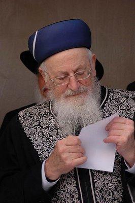 Rav Mordechai Eliyahu @ Ramash Kever