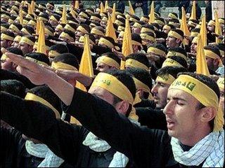 terrorist hezbollah hitler salute